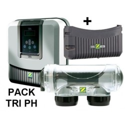 Electrolyseur TRi10 + TRi pH Zodiac