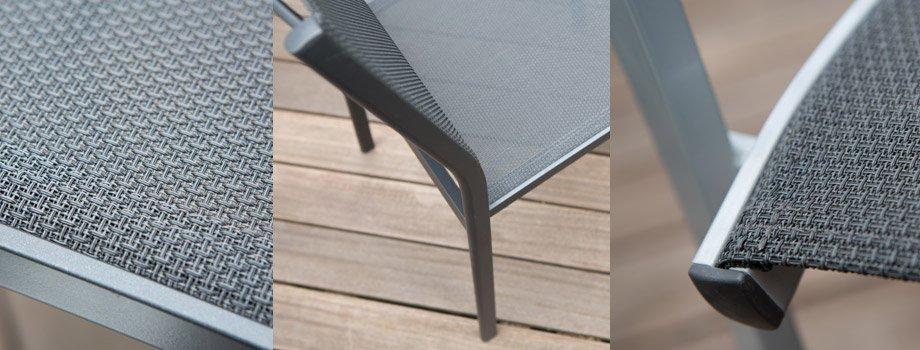 Lille De Aluminium Chaise En Et Bancs Jardin Chaises SzpVqUMG